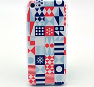 Geometry Puzzle Pattern Hard Case for iPhone 5C