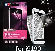 diamante anti-radiazioni protezione dello schermo per Samsung i9190 s4 mini (1pcs)