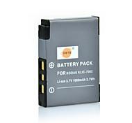 DSTE 3.7V 1000mAh KLIC-7002 Batería para cámara Kodak V603 V530