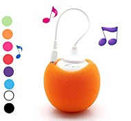 Soft Ball 3.5mm Plug Mini Audio Dock Speaker for iPhon iPod PC And Mobile Phone(Assorted Colors)