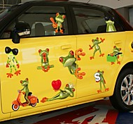 Doudouwo® Animals Cartoon Style Cute Frog Wall Stickers
