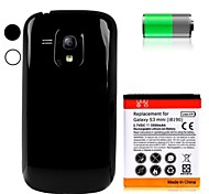3500mAh Replacement Lithium-ion Battery+Back Cover for Samsung I8190 GALAXY S3 Mini