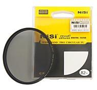 lente de filtro polarizador circular ultra delgado de 82 mm nisi pro cpl