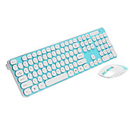 LX-T004 2.4G Wireless Shine Keyboard Mouse Kit