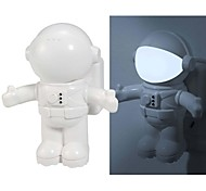 Creative Astronaut Shaped Sensor Sound and Light-sensing Controlled LED Night Light