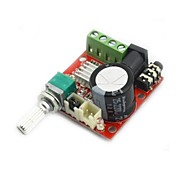 mini amplificatore audio digitale 10w + 10w / 2 canali amp / diy classe modulo d hifi 2.0 (DC12V)
