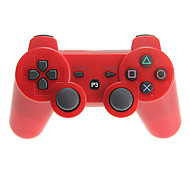 -Dual Shock 3 controlador inalámbrico bluetooth para ps3 (negro)