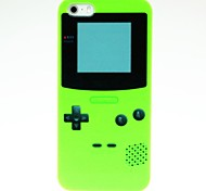 Green Game Machine Pattern Hard Case for iPhone 4/4S