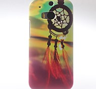 Wind Chime in the Beautiful Sunset Pattern Hard Case with Matte Back Cover for HTC M8