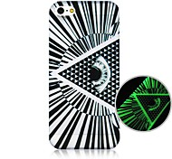 Eye Pattern Fluorescence after Sunniness Hard Back Case for iPhone 4/4S