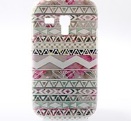 Colorful Stripe Pattern PC Hard Case with Matte Back Cover for Samsung Galaxy S3 Mini I8190