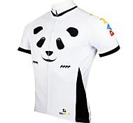 Uomo PaladinSport Panda primavera e l'estate di stile 100% poliestere Maniche corte ciclismo maglia