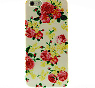 Rose Flower Pattern Hard Case for iPhone 5/5S