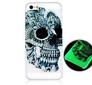 For iPhone 5 Case Glow in the Dark Case Back Cover Case Solid Color Hard PC iPhone SE/5s/5