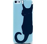 Wand Cat Pattern PC Hard Case für iPhone 5C