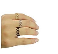 shixin® clássica forma de flor anel de banda de liga (1 pc)