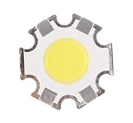 5W COB 450-500LM 6000-6500K Cool White Light LED Chip (15-17V,300uA)