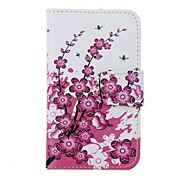 PU Leather Flower Pattern Case for Nokia X