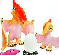 2 Pack Pterosaur Dinosaur with Eggs Suit Rubber Action Figures Model Toys