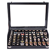 Classic Nice One Hundred Sets Wing Jewelry Stand Black Paper Flannelette Jewelry Boxes(1 Pc)