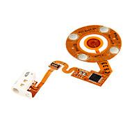 Replacement Click Wheel Ribbon Flex Cable for iPod Nano 2nd Gen (White)