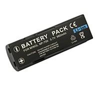minolta 980mah bateria para câmera digital NP-700 aplicável x60 / x50 / x500