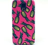 Für Samsung Galaxy Hülle Muster Hülle Rückseitenabdeckung Hülle Frucht PC Samsung S5