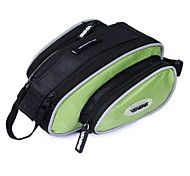 VSHENG Green Triangle Cycling Bicycle Front Tube Bag