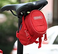 Cycling 600D Polyester PVC Waterproof Wearproof Pure Color 1L Bicycle Saddle Bag