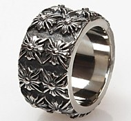 Z&X®  Men's Fashion And Personality Crow Heart Titanium Steel Ring