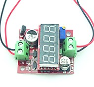 dc ~ 1.23 ~ 37v 4 módulo de energia redução de 3,2 40v dc para digital de regulação de tensão