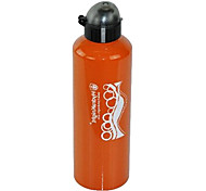 HYDRAKNIGHT 1000ML Cap-Pulling Orange Large Diameter Alumium Alloy Cycling Water Bottle