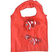 Eco-Friendly Clownfish Pattern Folding Shopping Bag