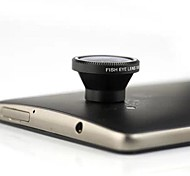 3-in-1 180 Degree Fish Eye Lens,2X Wide Angle Lens and Macro Lens for iPhone 4,iPhone 5,New iPad and Other Cellphones