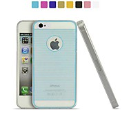 Angibabe 0.3mm Drawing Line TPU Soft Case for iPhone 4/4S