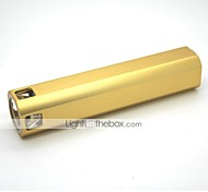 LT-R808 Cigarette Lighter 3 Modes 1xCree XML T6 Rechargeable Led Flashlight(1000LM.Built-in Battery.Golden)