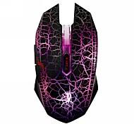 Dare-u WARANGLER G60 4 LED Backlight Free Switch 4 Level DPI USB Wired LED Gaming Mouse Mice