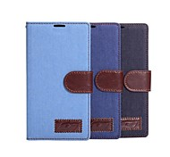 PU Leather Denim Case for Sony Xperia T3