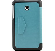 """Shy Bear™ Business Smart Leather Cover Case for Asus FonePad 7 FE7010CG 7"""" Inch Tablet"""