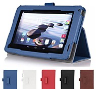 """Hand Strap Stand Leather Case Cover Card Wallet Skin for Acer Iconia 7"""" B1-720 tablet"""