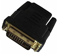 HDMI Female to DVI Male DVI-D 24+5 Adapter Converter