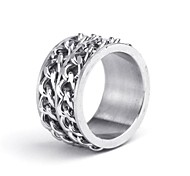 Mumar Fashionable Stainless Steel Men's Rings