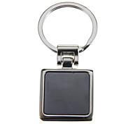 Small Square Photo-Attachable Key Ring