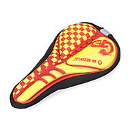 INBIKE High Elastic Fabric+GEL Red+Yellow Cycling Saddle Cover