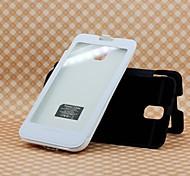 cargador de batería de emergencia 4200mah portátil con el caso trasero para Samsung Nota 3 (5v 1a, colores opcionales)