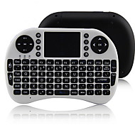 iPazzPort kp-810-21 2,4 g wireless 92 teclas de teclado com touchpad para google caixa de tv / ps3 / pc