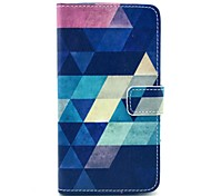 Classical Multicolor Geometric Figure Pattern PU Leather Full Body Case for Samsung Note3 N9000