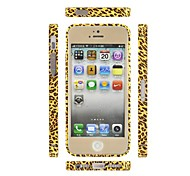 Angibabe Leopard Print Aluminum Bumper for iPhone 5&5S