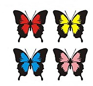 Fashion Butterfly Scratch Car Stickers