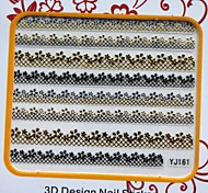 DIY Nails Manicure Decoration Stickers For Hot Mum